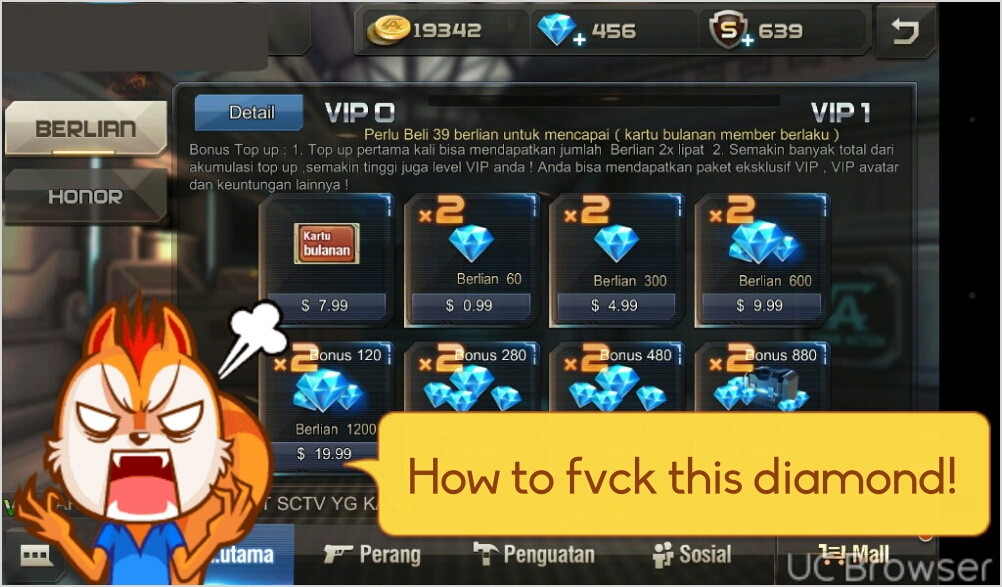 How To Cheat Diamond Or Gold In Crisis Action General Android