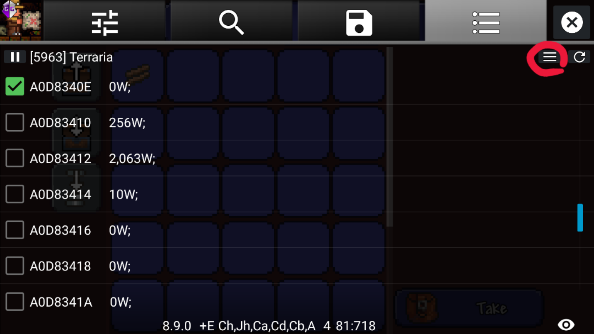 terraria android inventory editor apk